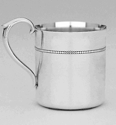 Reed & Barton Royal Bead Silver-plate Baby Cup