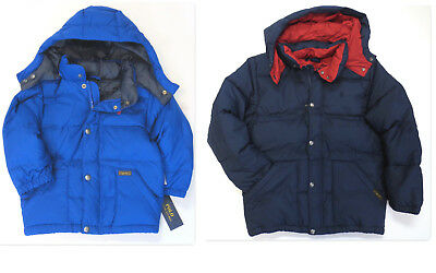 d9c99bb49 Polo RALPH LAUREN Boys Jacket Sz 2 2T Kids Down Fill Puffer Coat NEW