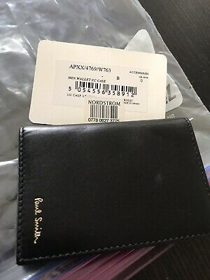 38c2403f4724 NEW PAUL SMITH Mens Wallet Credit Card Case - $99.99 | PicClick