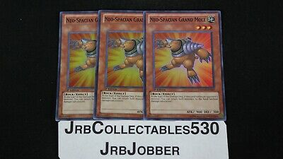 Neo-Spacian Grand Mole 1st X 3 RYMP-EN007 Super Yugioh