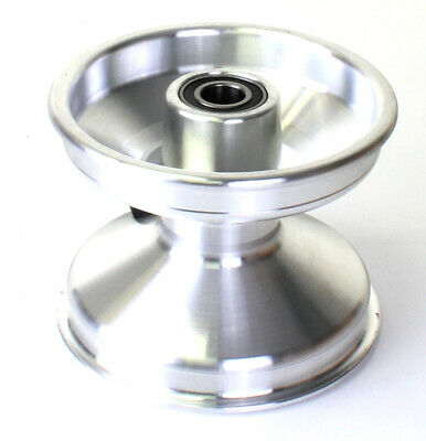 Jet Wheel Front Silver 100mm Offset x 1 Go Kart Karting Race Racing