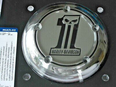 Harley Davidson Skull No.1 Luftfilter AC Air Cleaner Cover Twin Cam  27956-10