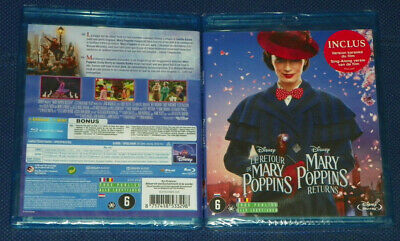 Le Retour De Mary Poppins - Blu Ray Disney Neuf All Zone