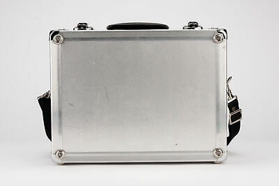 Aluminiumkoffer Koffer suitcase universal in Silber silver