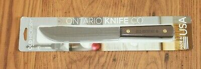 "Old Hickory 7"" Butcher Knife. Ontario Knife Co. NIP"