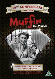 Muffin The Mule (DVD,diamond collection /brand new and sealed/14 episodes/ u