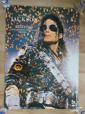 "MICHAEL JACKSON - HIStory UK 1995 official Epic 24"" x 32"" promo poster"
