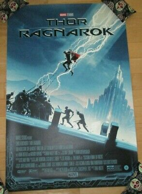 THOR RAGNAROK avengers comic movie poster print Matt Ferguson