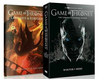 Game Of Thrones: Season 7,The Complete Seventh Season. DVD + Conquest & Rebel