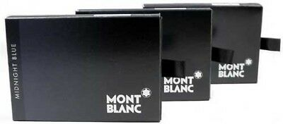 Montblanc 24 Cartouches d'encre Midnight Blue