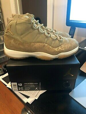 9f5c389b7ac6e6 NEW Nike Air Jordan 11 Retro WMNS SZ 12 MENS 10.5 Neutral Olive Gum AR0715-