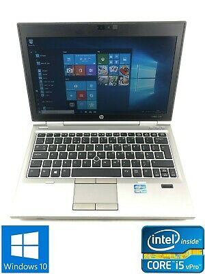 HP Elitebook 2570p - 500GB HDD, Intel Core i5-3320M, 8GB RAM - Win 10