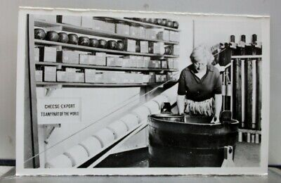 Netherlands Holland Cheese Factory Postcard Old Vintage Card View Standard Post