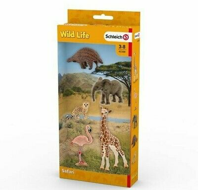 Surtido Wild Life Animales 42388 Schleich Anywhere un Patio Cebra León Etc