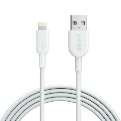 Anker PowerLine II White Lightning Charging Cable for iPhone 6 7 8 1.8m
