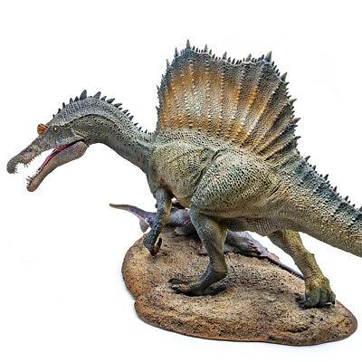 """PNSO 1/35 Spinosaurus 19"""" Spino Figure Dinosaur Model Collector Animal Toy Gift"""