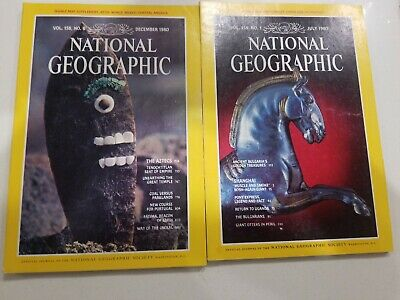 Lot 2 NATIONAL GEOGRAPHIC VOL 158, NO. 1   JULY, 1980 December 1980