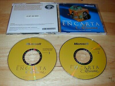 MICROSOFT ENCARTA VIRTUAL Globe 98 Software CD-ROM - Geographical