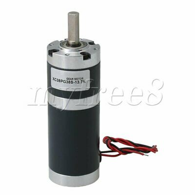 DC24V 180RPM Planetary Gear Motor with 37mm Reducer Metal Gearbox XC38PG38S