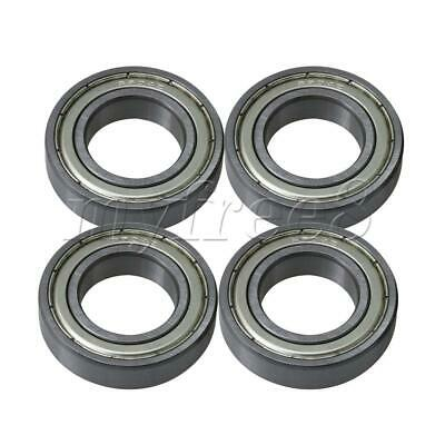 4 x Silver Replace Precision Thin Wall Ball Bearings with Iron Cover 61904ZZ