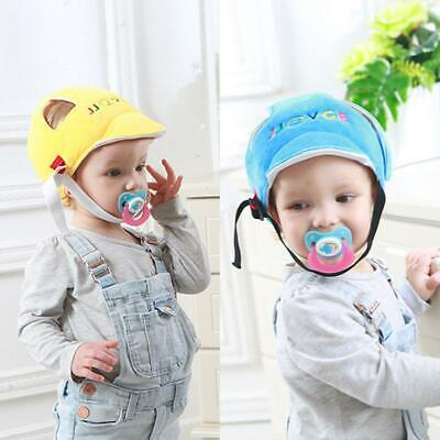 Toddler Baby Safety Helmet Infant Fall Head Protection Hat Cap Walking Crawling