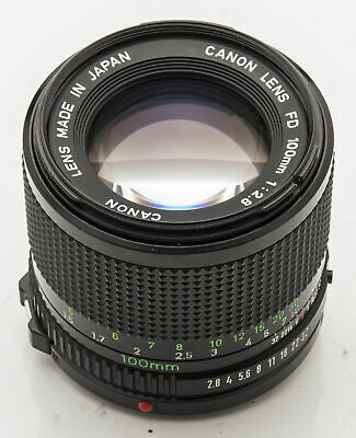 Canon Lens FD 100mm 100 mm 1:2.8 2.8 - A-1 AT-1 T70 AE-1