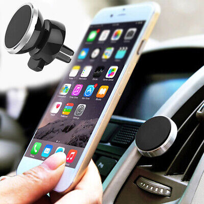 Universal Magnetic Car Phone Holder 360 Rotation Air Vent Mobile Phone Car Mount