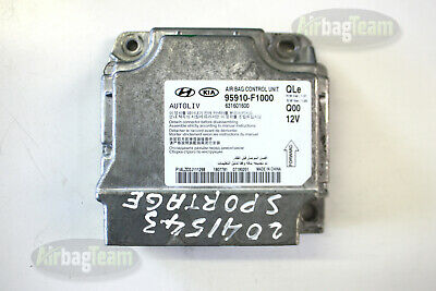 Kia Niro Airbag ECU Control Module Sensor 95910G5400 G595910400 No Crash Data