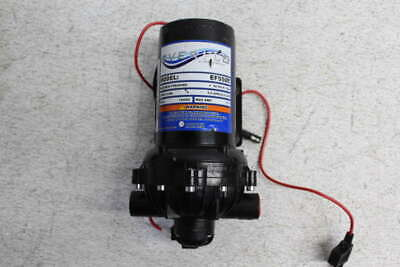 Everflo 1/2 in NPT 60 psi 5.5 GPM 12Vdc 17A Diaphragm Pump EF5500