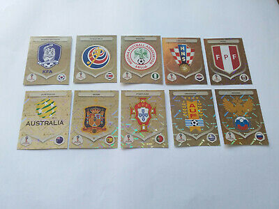 Panini Wc Coupe Du Monde Russia 2018 Russie Lot De 1 2 3 5 10 Images Brillantes