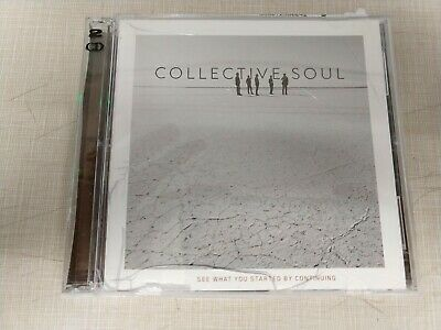 See What You Started by Continuing by Collective Soul (CD Oct 2015 2 DISC SET)