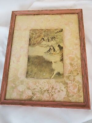 A copy/fragment of Dega - hand painted antique French ca. 1900, framed