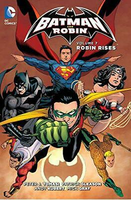 Batman and Robin TP Vol 7 Robin Rises by Tomasi, Peter J., NEW Book, FREE & Fast