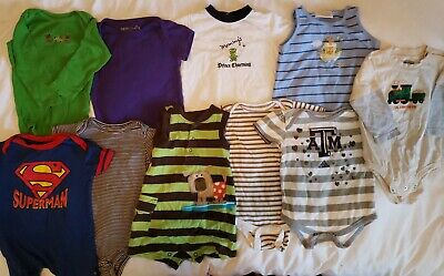 Baby boy clothes 12-18 months lot of 14