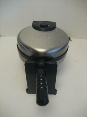 Sensio Bella Cucina Kitchen Rotating Belgian Nonstick Waffle Maker Ready On LN