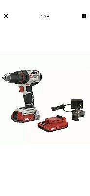 """Porter-Cable PCCK600LB 20V Li-Ion 1/2"""" Cordless Drill/Driver with 2 batteries"""