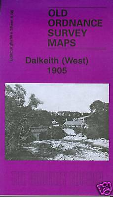 Old Ordnance Survey Map Dalkeith West 1905