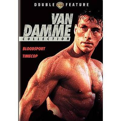 Van Damme Collection [Bloodsport / Timecop] DVD **DISC AND COVER ART ONLY** VG
