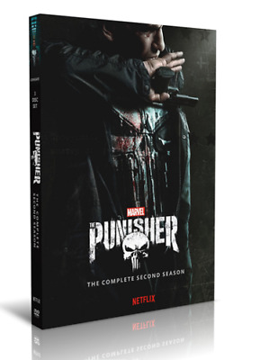 The Punisher Season 2 Two The Complete Second DVD Set New Sealed Free Shipping