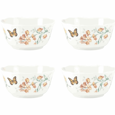 Butterfly Meadow Set of 4 Melamine Bowls
