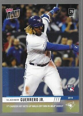 2019 Topps Now Debut Rookie RC Vladimir Guerrero Jr 137 Jays