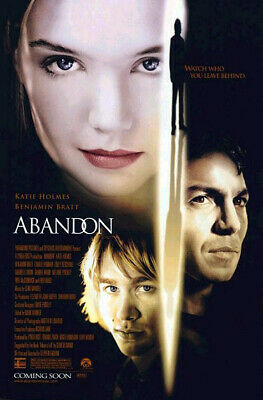 Abandon (2002) original movie poster - double-sided - rolled