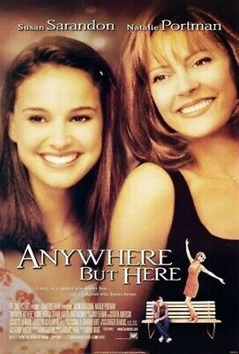Anywhere But Here (1999) original movie poster - double-sided - rolled