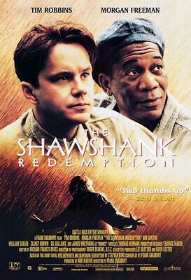 The Shawshank Redemption (1994) original video poster - single-sided - rolled