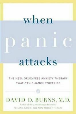 NEW When Panic Attacks By David D Burns Paperback Free Shipping