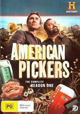 NEW American Pickers DVD Free Shipping