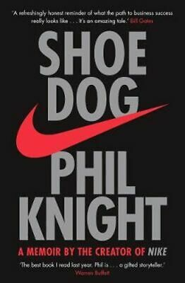 NEW Shoe Dog By Phil Knight Paperback Free Shipping