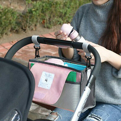 Baby Stroller Organizer Carriage Pram Cart Buggy Cup Bag Stroller Accessories HC