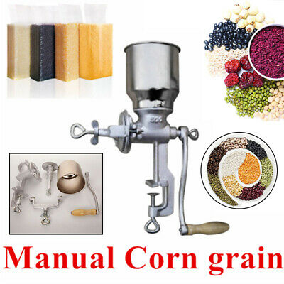 Manual Corn Coffee Food Wheat Grinder Hand Grains Oat Mill High Hopper Cooking