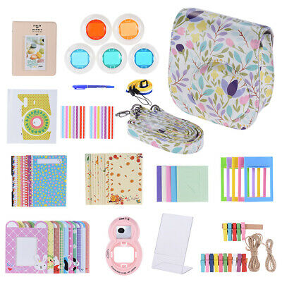 Andoer 14in1 Small flowers Patten Accessories Kit for Fujifilm Instax Mini8 G9D6